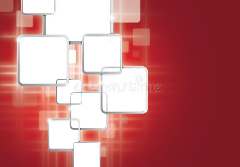 Priorità bassa del visualizzatore digitale illustrazione di stock