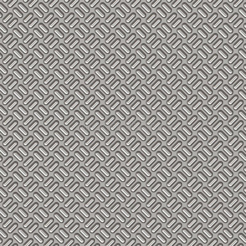 Priorità bassa dell'acciaio della zolla dell'impronta illustrazione di stock