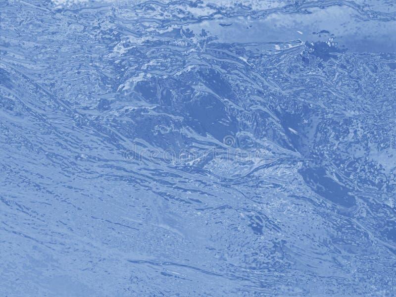 Priorità bassa dell'acqua blu immagini stock