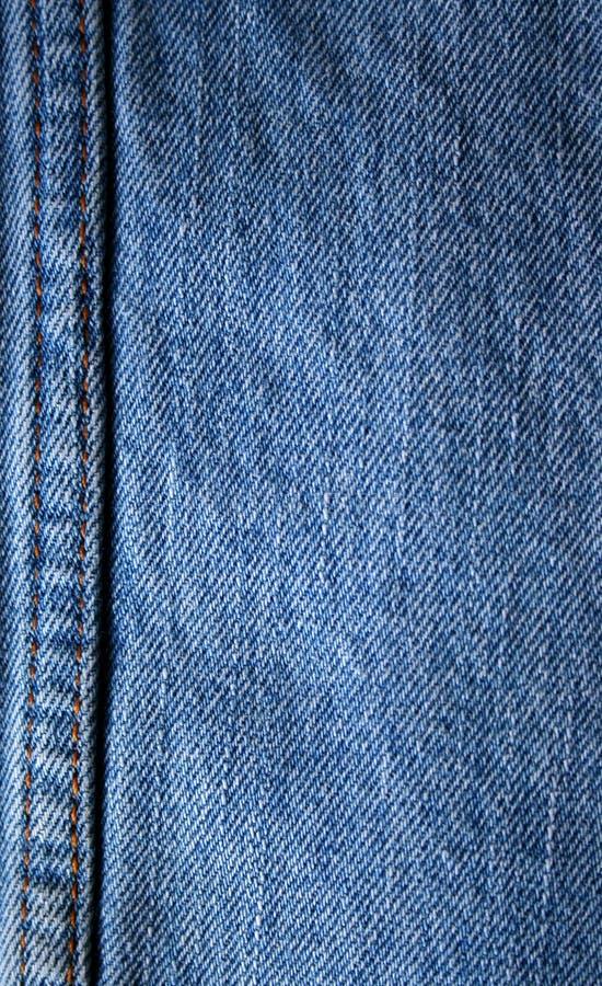 Priorità bassa dell'aggraffatura delle blue jeans fotografie stock libere da diritti