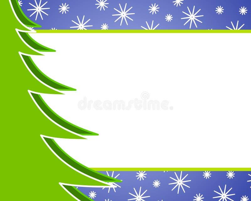 Priorità bassa dell'albero di Natale illustrazione vettoriale