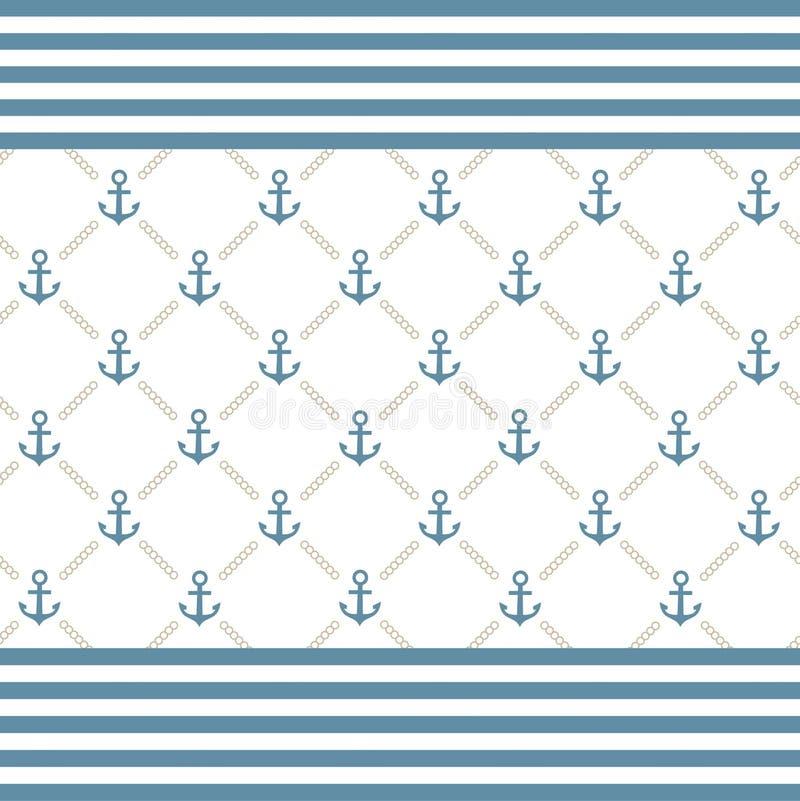Priorità bassa dell'ancoraggio royalty illustrazione gratis