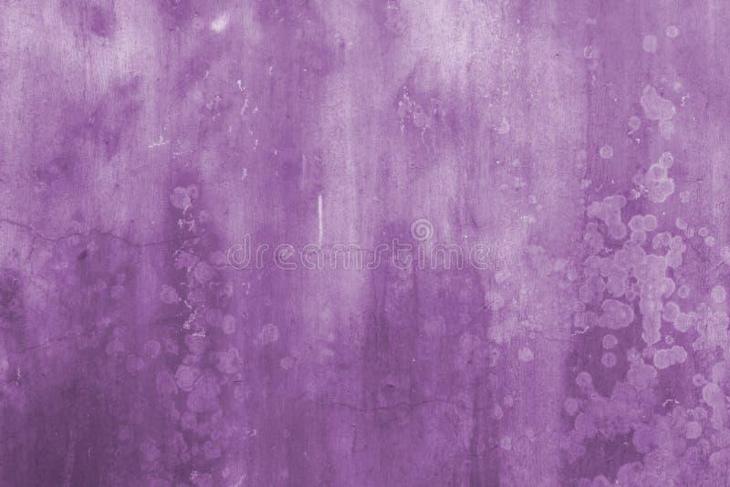 Priorità bassa dell'estratto della parete di Grunge nella porpora illustrazione vettoriale