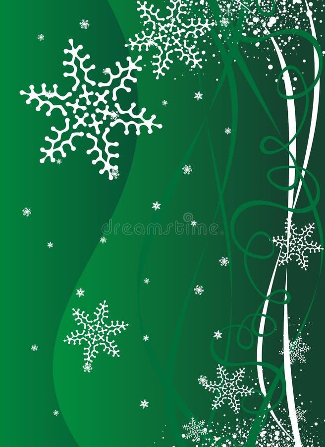 Priorità bassa dell'illustrazione anno nuovo/di natale illustrazione vettoriale
