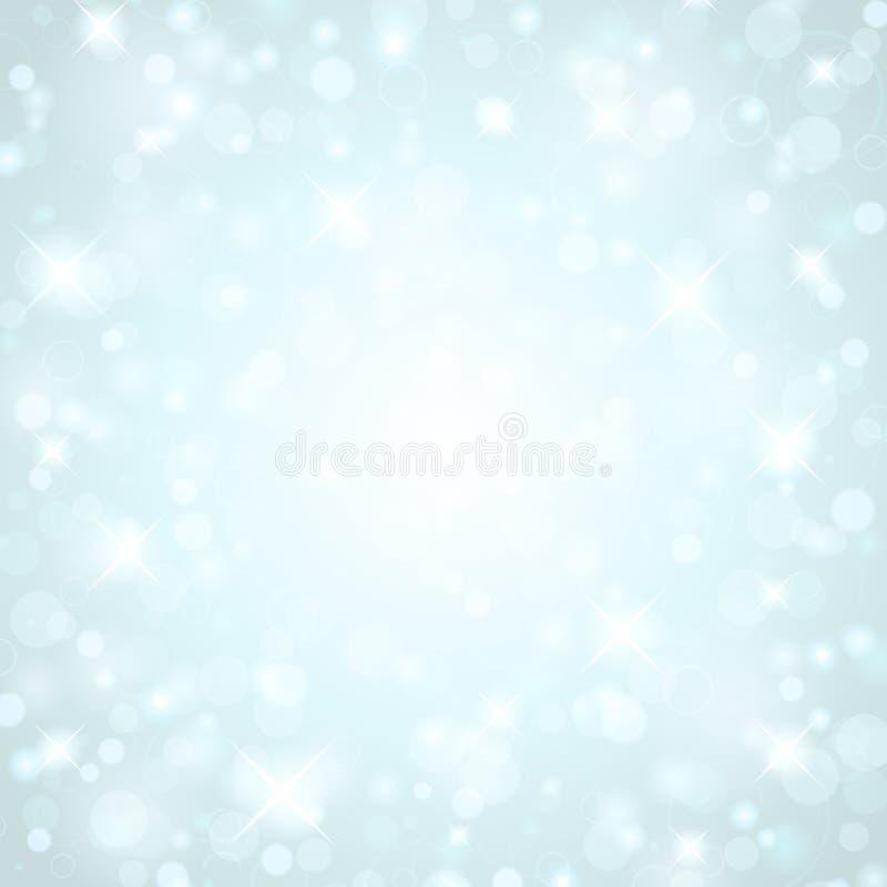 Priorità bassa dell'indicatore luminoso di burst della stella illustrazione di stock