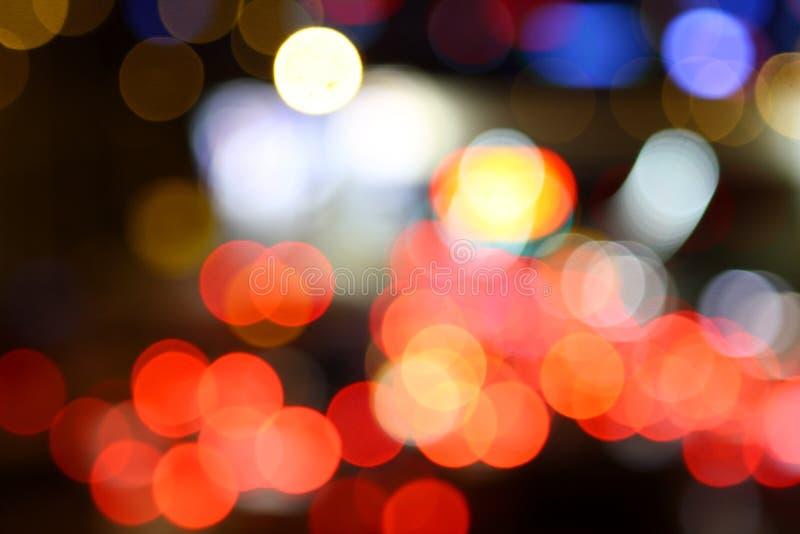 Priorità bassa dell'indicatore luminoso di natale fotografie stock