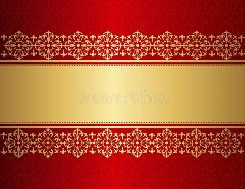 Priorità bassa dell'invito di cerimonia nuziale royalty illustrazione gratis