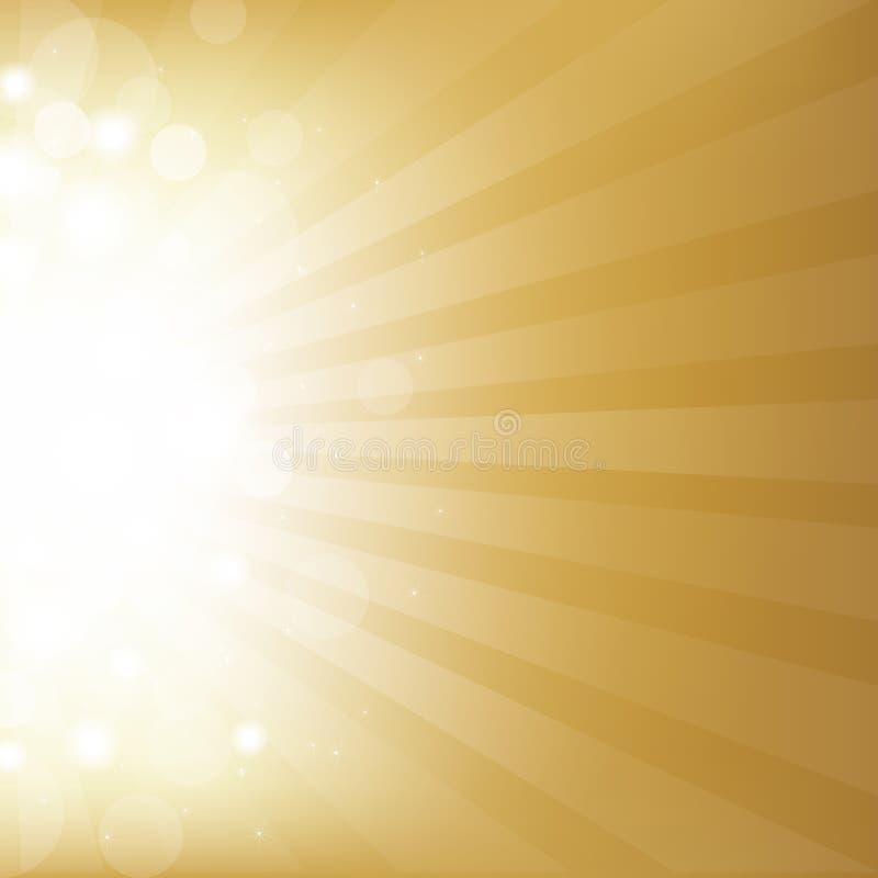 Priorità bassa dell'oro con la stella