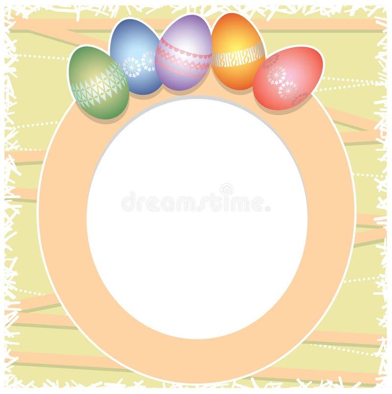 Priorità bassa dell'uovo di Pasqua illustrazione vettoriale
