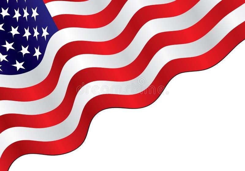 Priorità bassa della bandiera americana