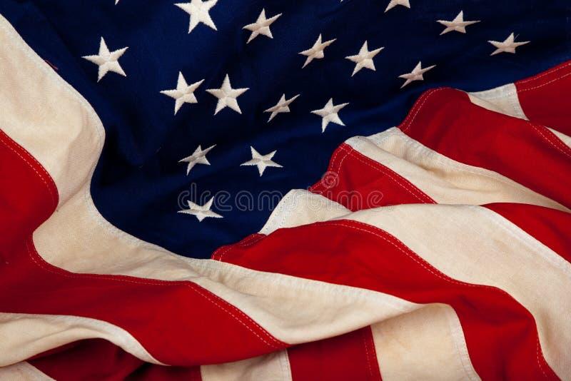 Priorità bassa della bandiera americana degli Stati Uniti fotografia stock
