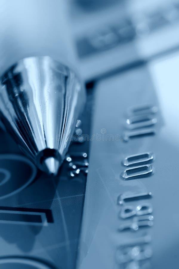 Priorità bassa della carta di credito immagine stock