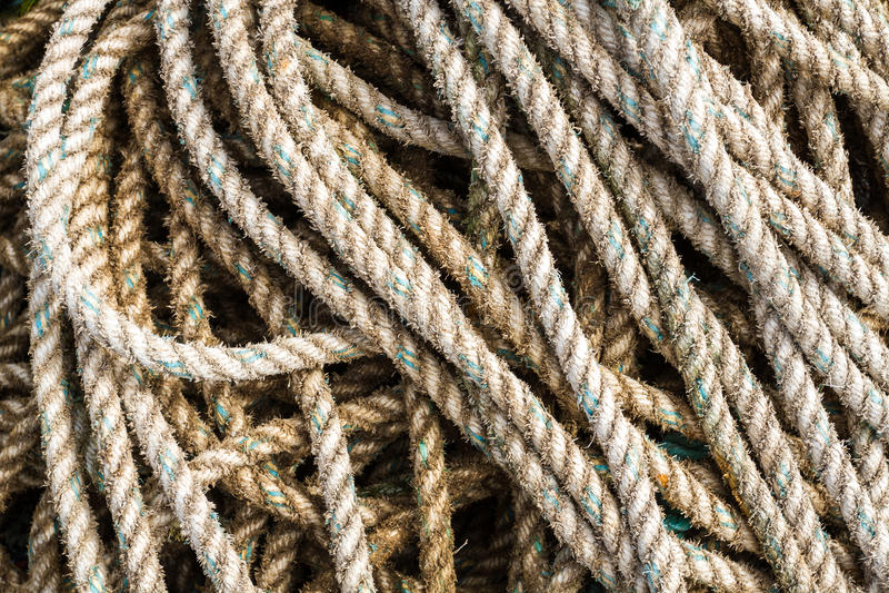 Priorità bassa della corda di pesca fotografia stock libera da diritti
