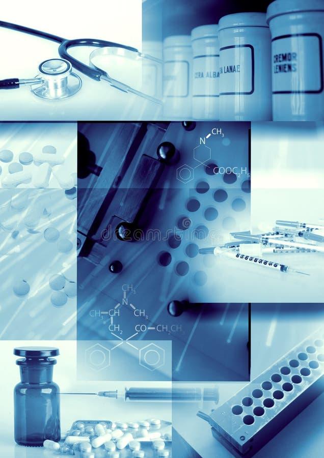 Priorità bassa della farmacia e della medicina immagini stock libere da diritti