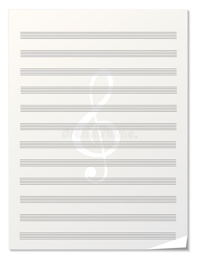 Priorità bassa della nota di musica royalty illustrazione gratis
