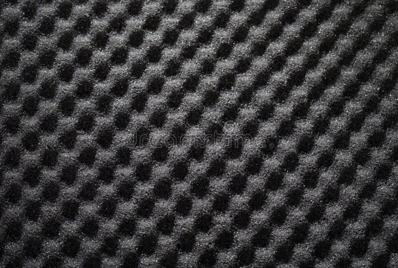Priorità bassa della parete della schiuma fonoisolante fotografie stock libere da diritti