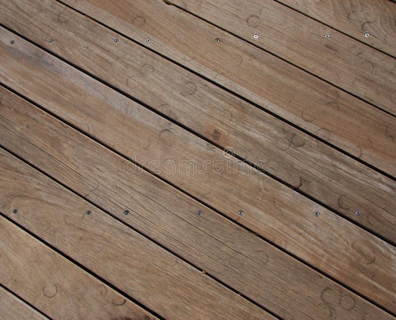 Priorità bassa della pavimentazione fatta con le vecchie plance immagine stock