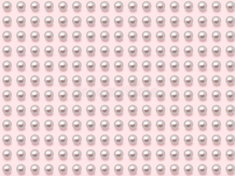 Priorità bassa della perla illustrazione vettoriale