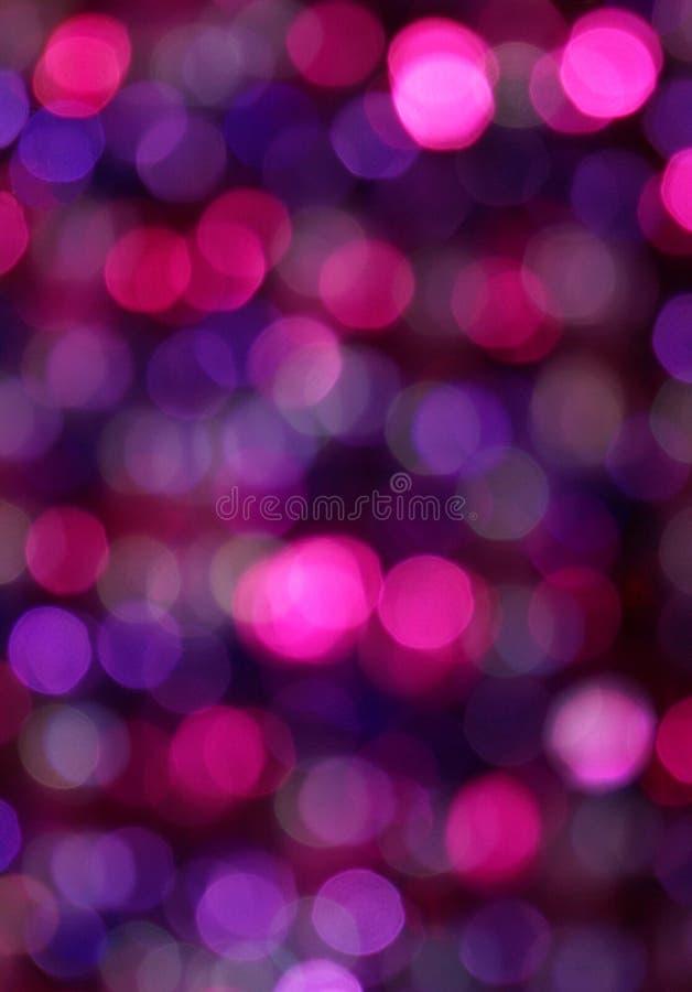 Priorità bassa della sfuocatura di colore rosa & di porpora immagini stock libere da diritti