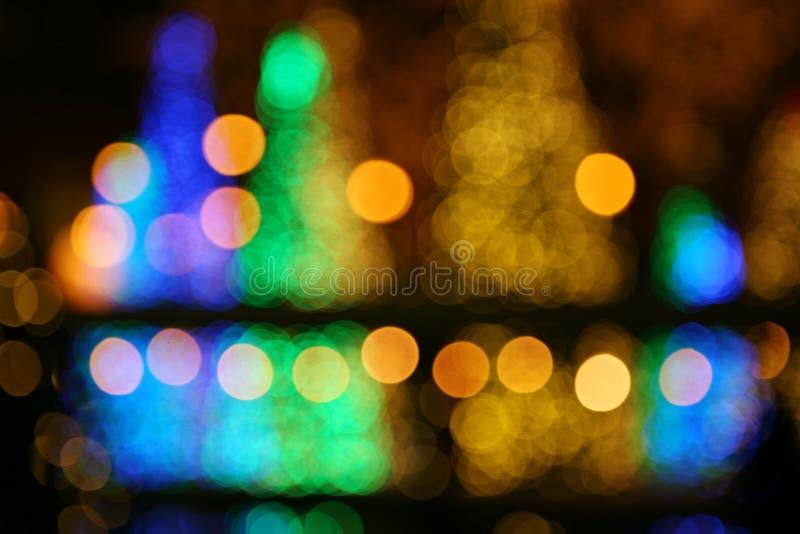 Download Priorità Bassa Della Sfuocatura Di Natale Fotografia Stock - Immagine di divertimento, notte: 7316240