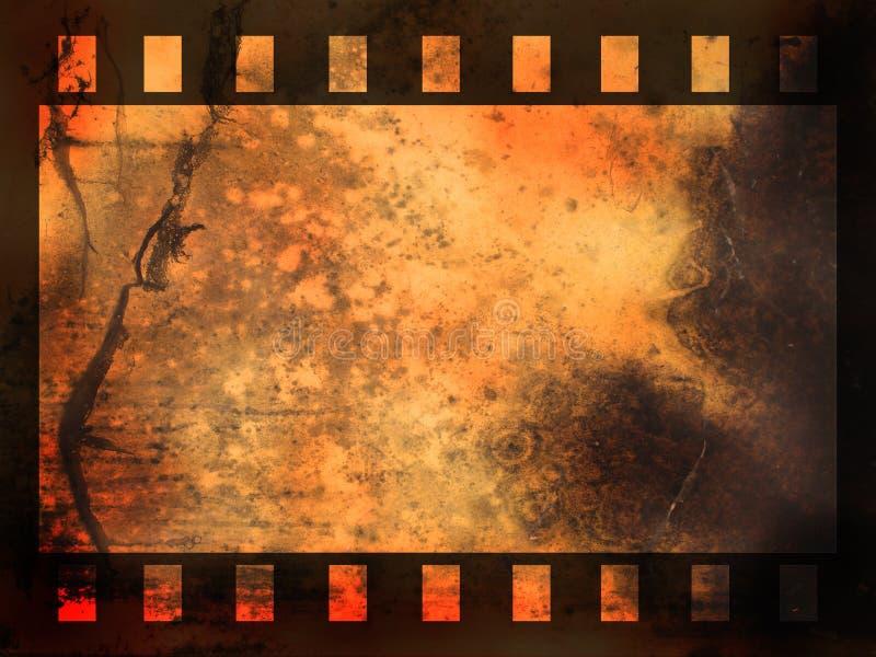 Priorità bassa della striscia della pellicola astratta illustrazione vettoriale