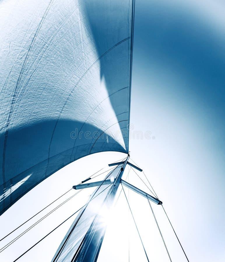 Priorità bassa della vela fotografia stock libera da diritti