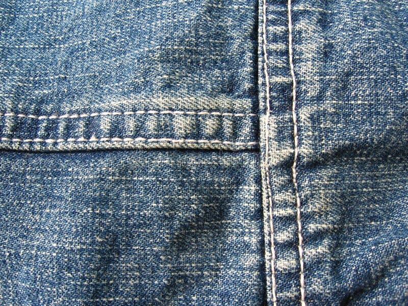 Priorità bassa delle blue jeans fotografie stock libere da diritti