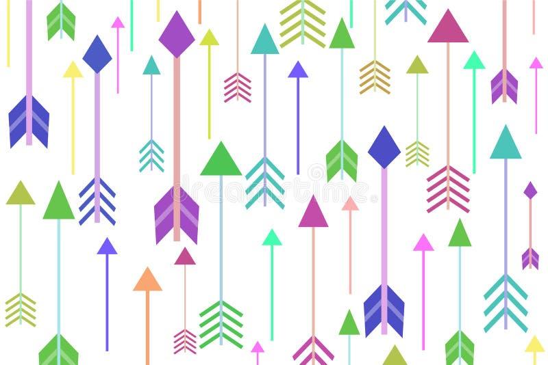 Priorità bassa delle frecce royalty illustrazione gratis