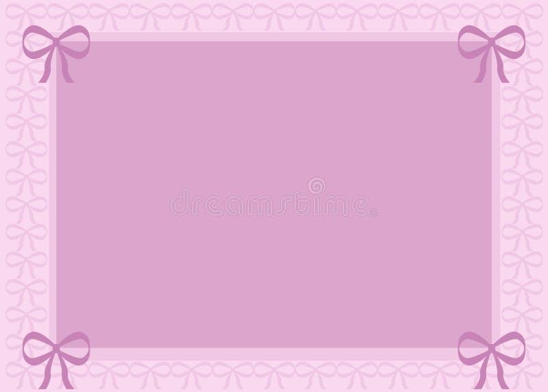 Download Priorità Bassa Dentellare Con Gli Archi Illustrazione di Stock - Illustrazione di tonalità, pink: 3142690