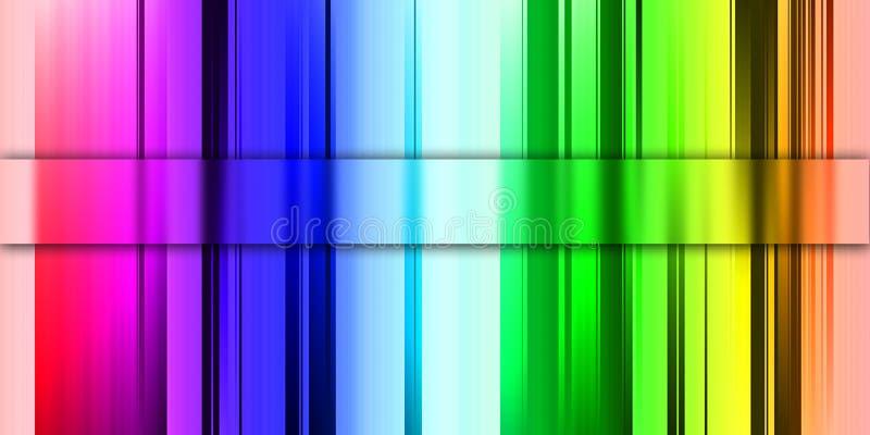 Priorità bassa di Absrtact delle barre colorate immagini stock