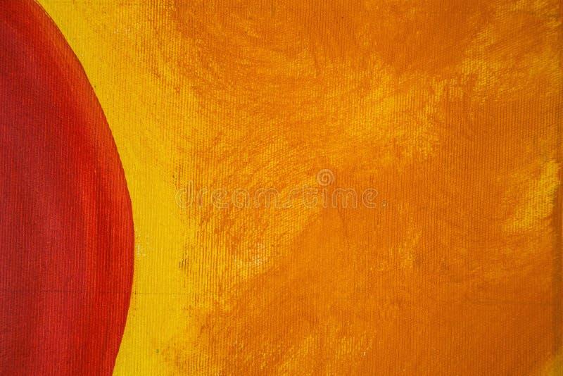 Priorità bassa di arte astratta Pittura a olio su tela di canapa Punti della pittura ad olio Pennellate di pittura Arte moderno T royalty illustrazione gratis