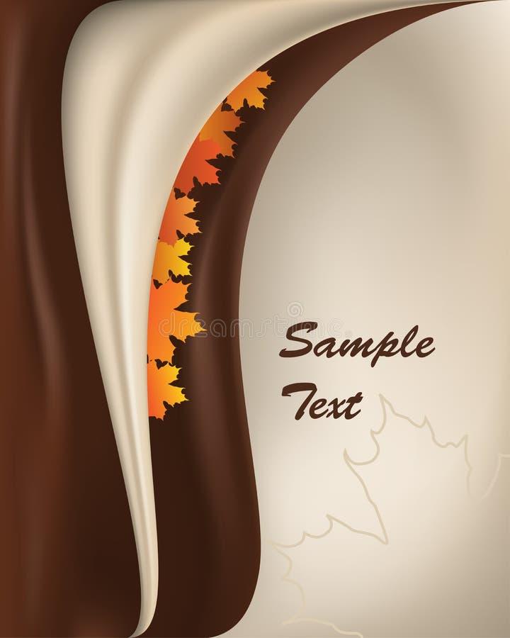 priorità bassa di autunno illustrazione di stock
