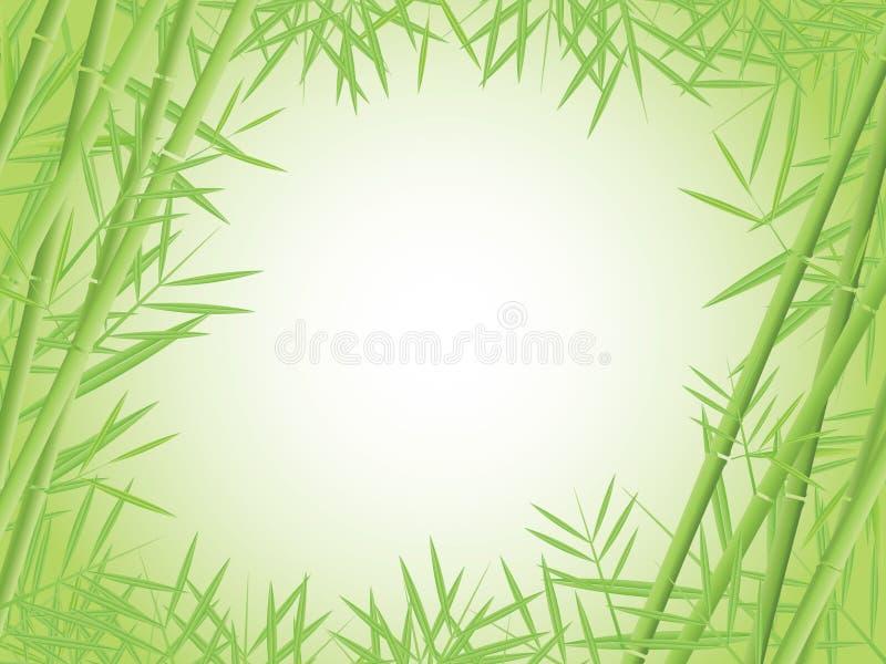 Priorità bassa di bambù illustrazione vettoriale