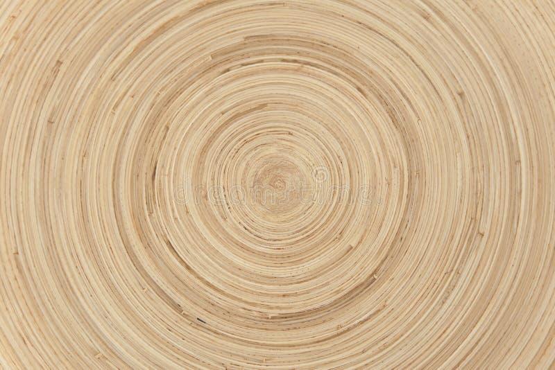 Priorità bassa di bambù circolare naturale astratta fotografia stock libera da diritti