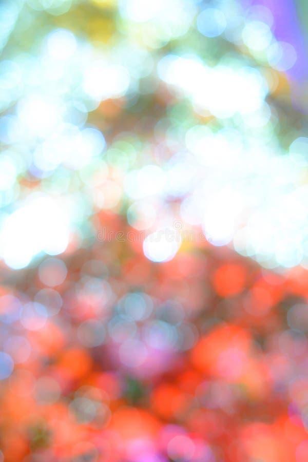 Priorità bassa di Bokeh di Christmaslight fotografia stock