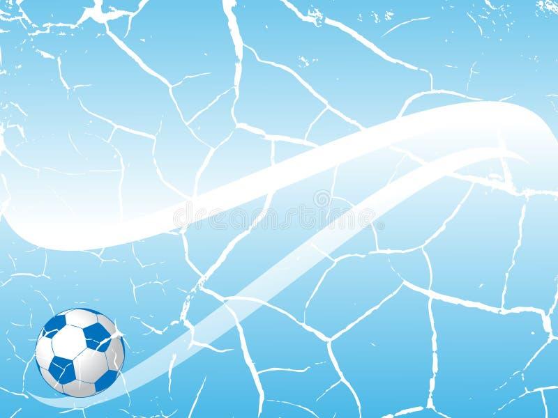 Priorità bassa di calcio illustrazione di stock
