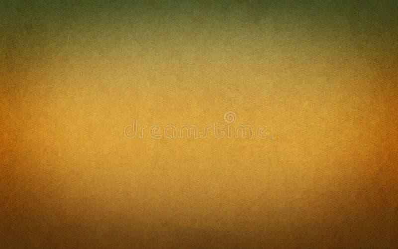 Priorità bassa di carta dell'annata Brown e colori verdi fotografie stock