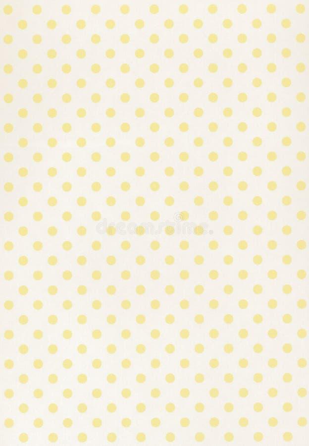 Priorità bassa di carta gialla immagine stock