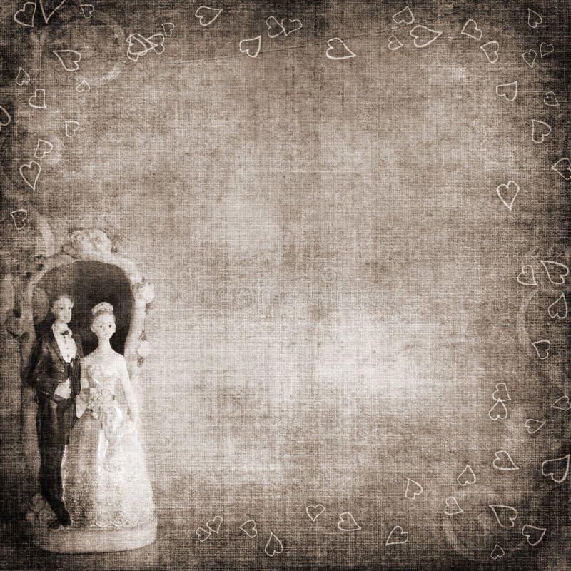 Priorità bassa di cerimonia nuziale royalty illustrazione gratis
