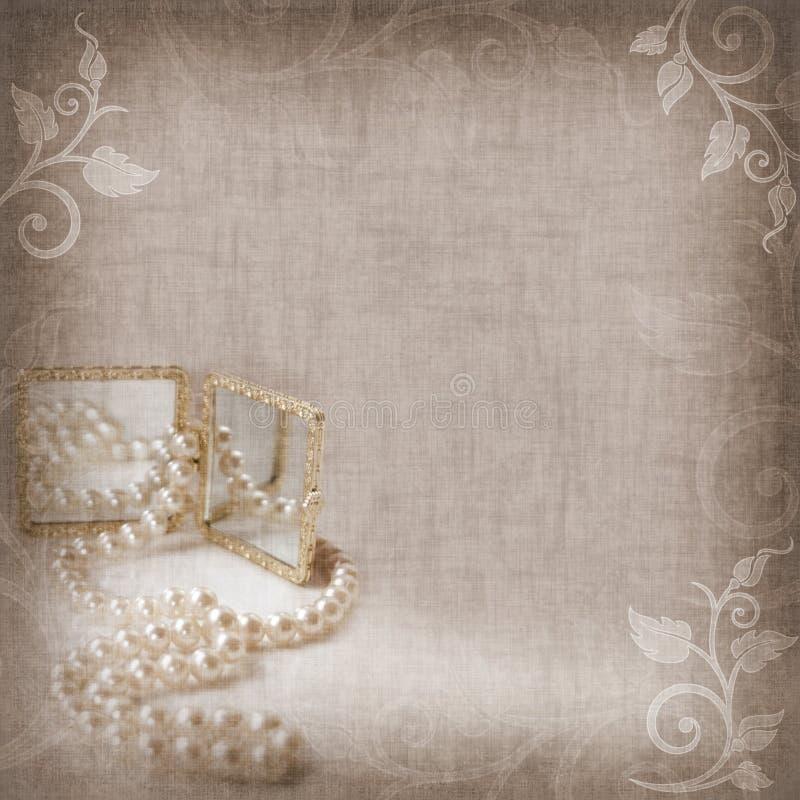 Priorità bassa di cerimonia nuziale, di festa o di anniversario royalty illustrazione gratis
