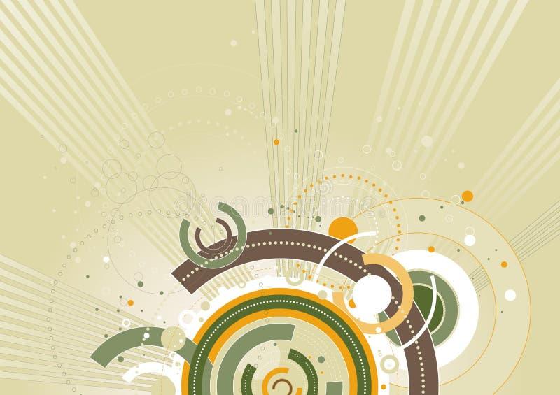 Priorità bassa di colore, illust di vettore royalty illustrazione gratis