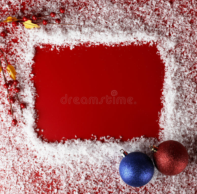 Priorità bassa di colore rosso di natale immagini stock libere da diritti