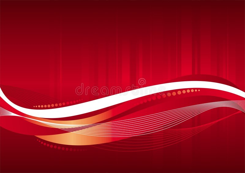 Priorità bassa di colore rosso di vettore illustrazione vettoriale