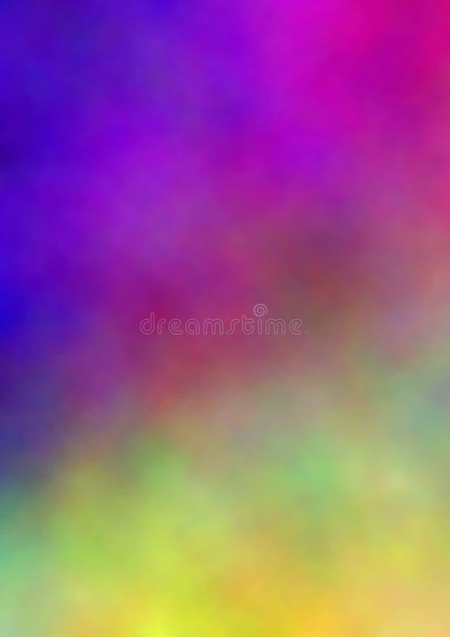 priorità bassa di colori di acqua illustrazione di stock