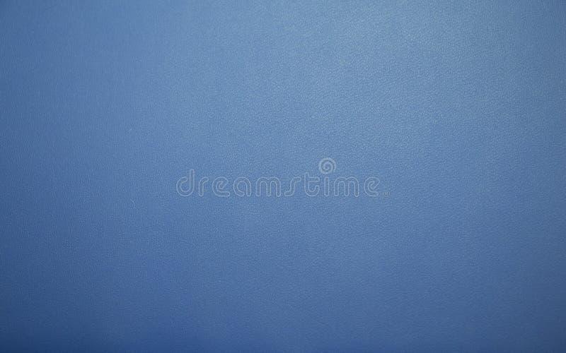 Priorità bassa di cuoio blu di struttura fotografia stock libera da diritti