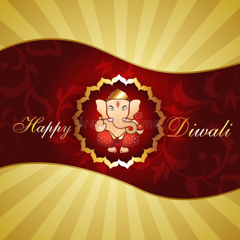Priorità bassa di Diwali royalty illustrazione gratis
