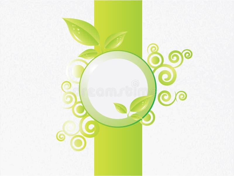 Priorità bassa di Eco illustrazione di stock