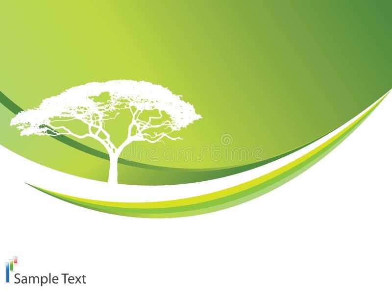 Priorità bassa di ecologia royalty illustrazione gratis