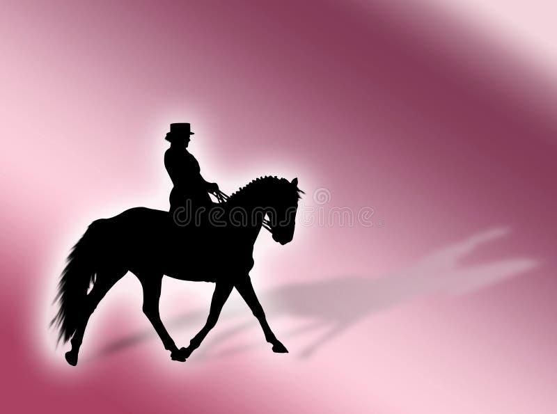 Download Priorità Bassa Di Equitation Illustrazione di Stock - Illustrazione di selvaggio, riding: 3885346