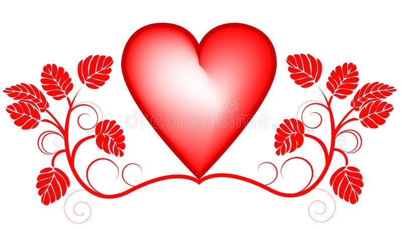 Download Priorità Bassa Di Giorno Dei Biglietti Di S. Valentino Con Cuore Illustrazione Vettoriale - Illustrazione di lettera, decorazione: 7322802
